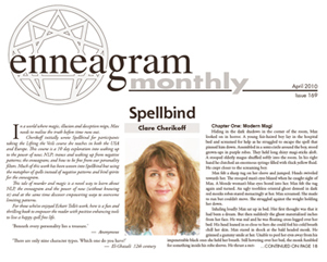Enneagram Monthly Feature