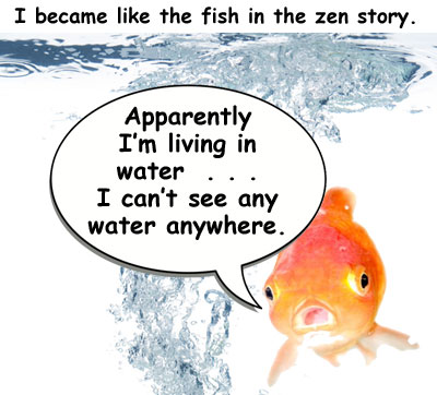 Zen fish cartoon